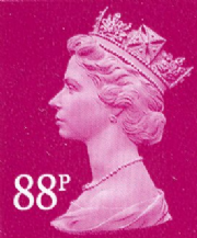 88p Discount GB Postage Stamp